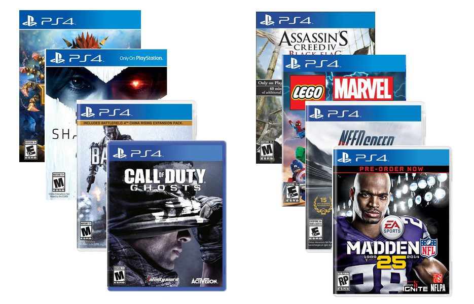 4 Games That Comes With Ps4 : Ps games list and key facts you need to know