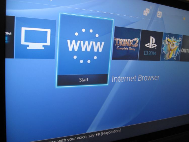 Can You Play Browser Games Using The Ps4 Web Browser